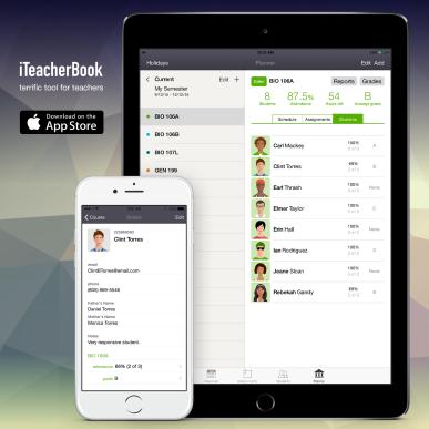 iTeacherBook-StudentDetails
